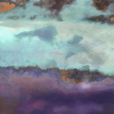 What a Color Art Series Abstract 7-Ricki Mountain-Art Print