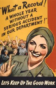 What a Record! WWII Poster