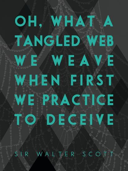 What a Tangled Web We Weave-James Hager-Art Print