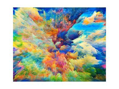 What Colors May Come-agsandrew-Art Print