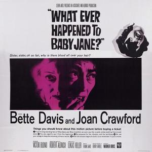 What Ever Happened to Baby Jane?, from Left: Bette Davis, Joan Crawford, 1962