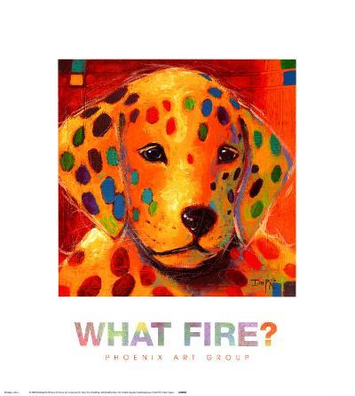 What Fire-Karen Dupr?-Art Print