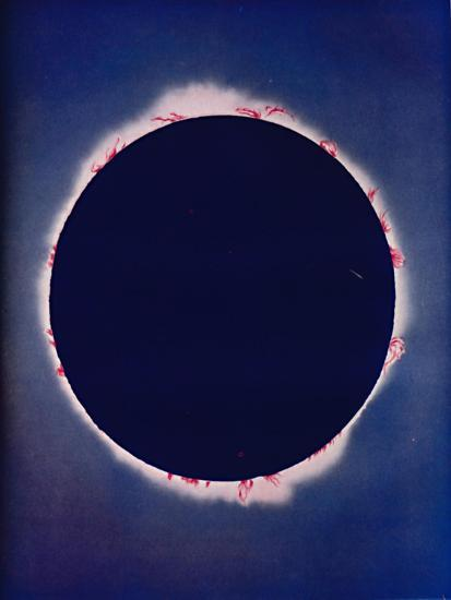 'What Is Seen During The Few Moments of a Total Eclipse', c1935-Unknown-Giclee Print