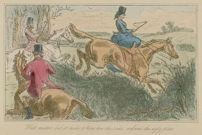 What Matter Did it Make to Him How She Rode, Confound This Ugly Place-Hablot Knight Browne-Giclee Print