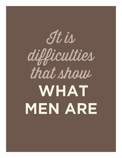 What Men Are-GraphINC-Art Print
