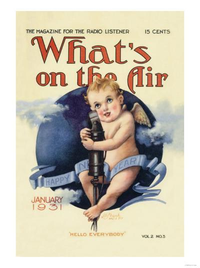 What's on the Air: Hello Everybody--Art Print