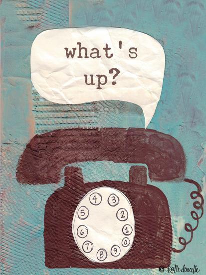 What's Up-Katie Doucette-Art Print