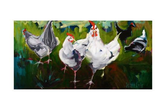What the Cluck-Stephanie Aguilar-Art Print