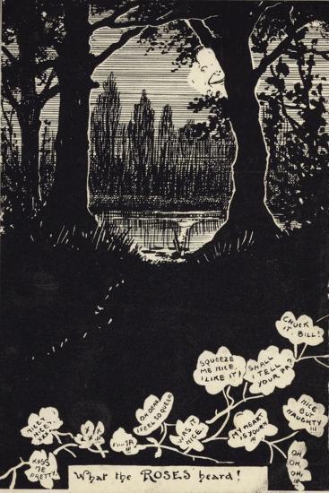 What the Roses Heard!--Giclee Print