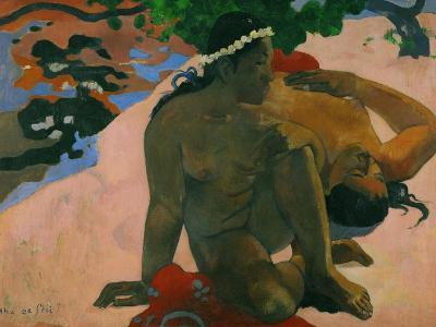 What, You are Jealous?-Paul Gauguin-Giclee Print