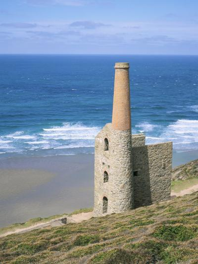 Wheal Coates Mine, St. Agnes, Cornwall, England, United Kingdom-Roy Rainford-Photographic Print