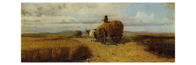 Wheat Field--Giclee Print
