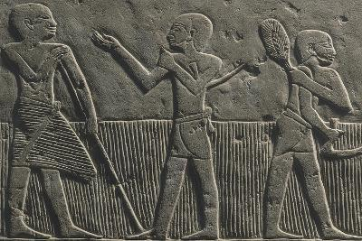 Wheat Harvest, Relief--Giclee Print