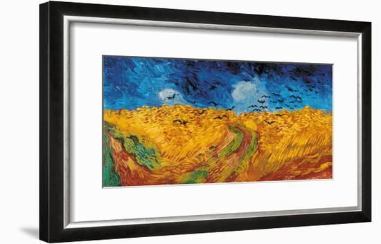 Wheatfield with Crows, c.1890-Vincent van Gogh-Framed Giclee Print