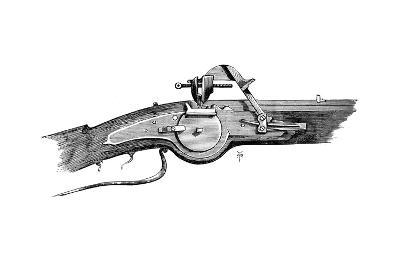 Wheel Lock Mechanism, from the Tower of London, C17th Century--Giclee Print
