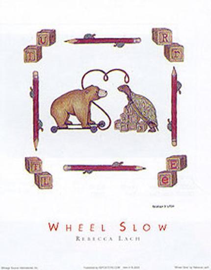 Wheel Slow-Rebecca Lach-Art Print