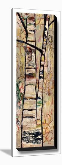 Wheels Wander Outward-Staci Britt-Stretched Canvas Print