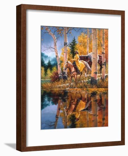 When all that Glitters-Jack Sorenson-Framed Art Print