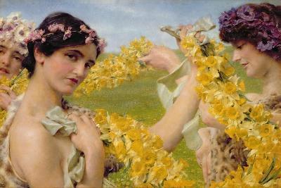When Flowers Return, c.1911-Sir Lawrence Alma-Tadema-Giclee Print