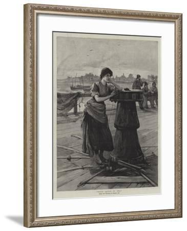 When Jack's at Sea--Framed Giclee Print