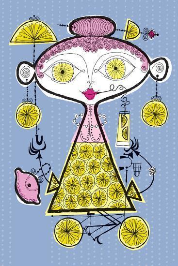 When Life Gives You Lemons-Melinda Beck-Art Print