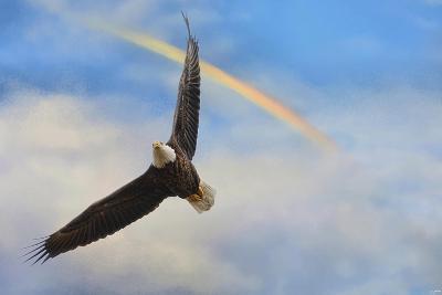 When My Wings Touch the Rainbow-Jai Johnson-Giclee Print
