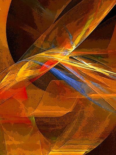 When Paths Cross-Ruth Palmer-Art Print