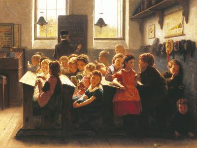 When Teacher's Back Is Turned-Jacob Taanmann-Giclee Print