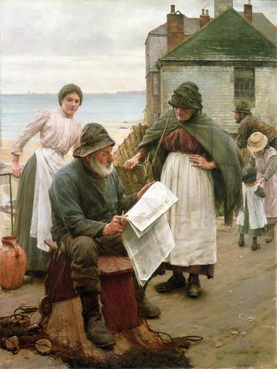 When the Boats are Away, 1903-Walter Langley-Giclee Print