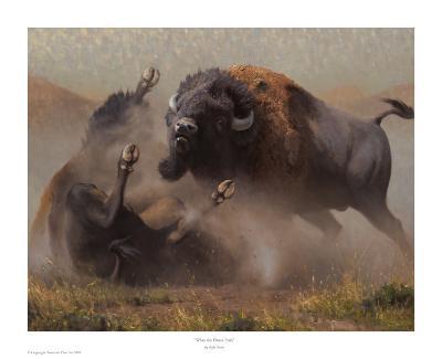 When The Dance Ends-Kyle Sims-Art Print