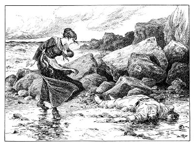 When the Sea Gives Up its Dead, 1901-MJ Blatchford-Giclee Print