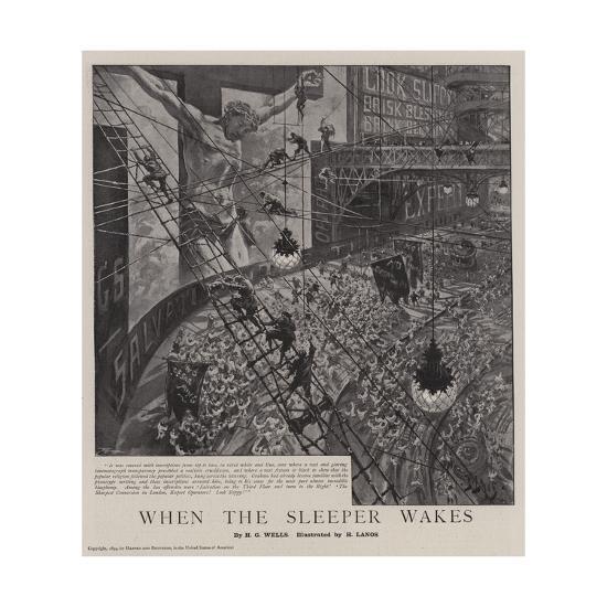When the Sleeper Wakes-Henri Lanos-Giclee Print