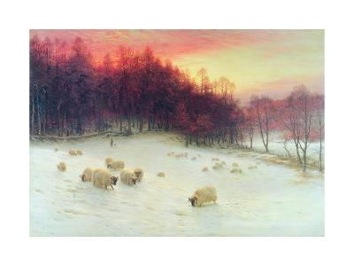 When the West with Evening Glows, Exh.1910-Joseph Farquharson-Giclee Print