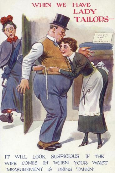 When We Have Lady Tailors--Giclee Print