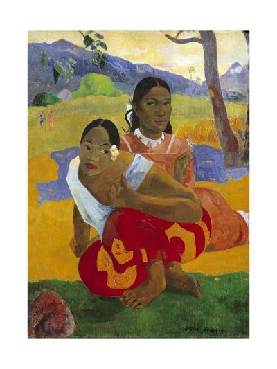 When Will You Marry? by Paul Gauguin--Giclee Print