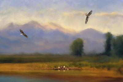 Where Eagles Play-Jai Johnson-Giclee Print