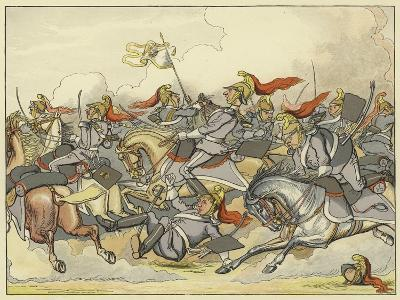 """Where Every Horse Bears His Commanding Rein, and May Direct His Course as Please Himself""""--Giclee Print"""