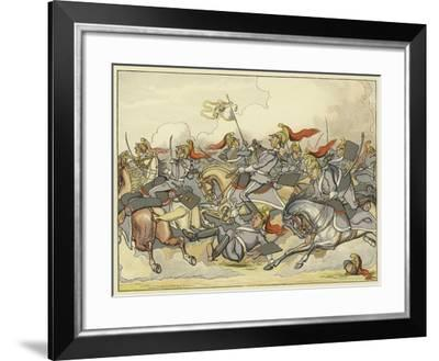 """Where Every Horse Bears His Commanding Rein, and May Direct His Course as Please Himself""""--Framed Giclee Print"""