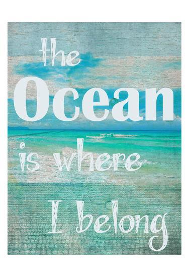 Where I Belong-Taylor Greene-Art Print