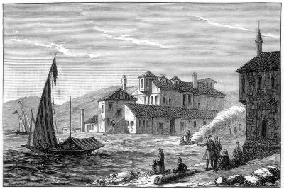 Where Lord Byron Died, Missolonghi, Greece, 1888--Giclee Print