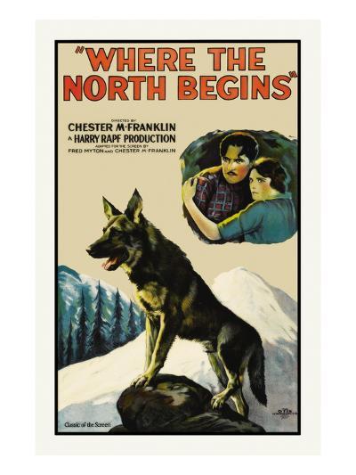 Where the North Begins--Art Print