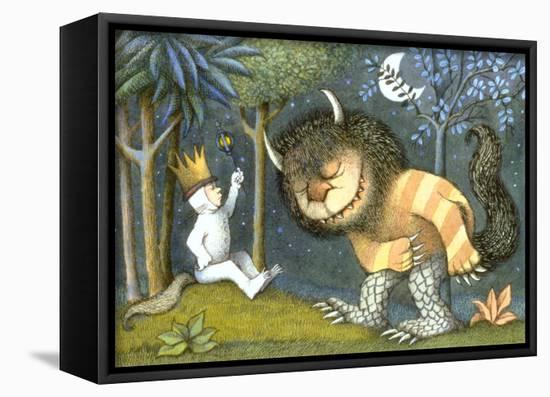 Where The Wild Things Are Framed Canvas Print By Maurice