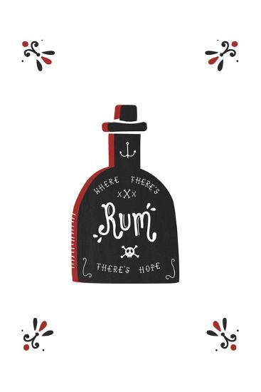 Where There's Rum There's Hope-Busy Being-Giclee Print