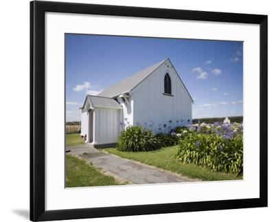Wheriko Anglican Church, Manawatu, North Island, New Zealand, Pacific-Smith Don-Framed Photographic Print