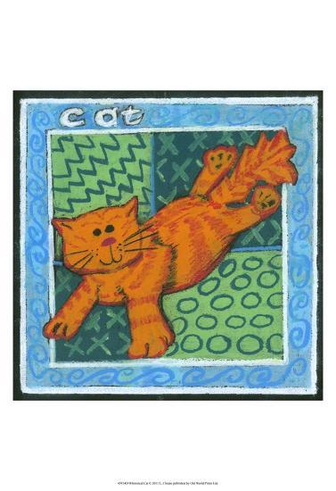 Whimsical Cat--Art Print