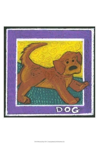 Whimsical Dog--Art Print