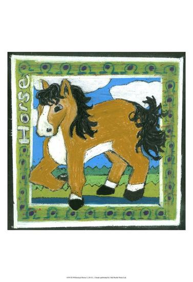 Whimsical Horse--Art Print