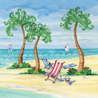 Whimsy Bay Chairs II-Paul Brent-Art Print