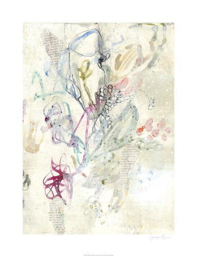 Whimsy Bouquet II-Jennifer Goldberger-Limited Edition
