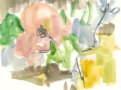 Whimsy in the Garden II-Jennifer Goldberger-Art Print
